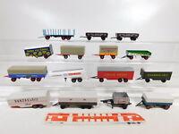 CA398-1# 15x 1:87/H0 Anhänger: DB+Krone+Esso+Edeka+Danas etc (Brekina etc) s.g