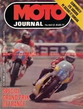 MOTO JOURNAL  462 SUZUKI 1000 endurance PE 175 IT YAMAHA Grand Prix France 1980