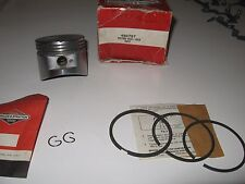 Briggs Stratton engine piston kit, rings, 2 clips, part # 490797  .010''' nos