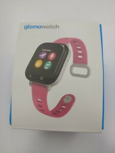 Gizmowatch Gizmo Watch Smartwatch Verizon - Black With Pink Band QTAX53P