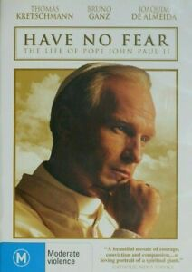 Have No Fear - The Life Of Pope John Paul 2 DVD - TRUE STORY Religious Movie