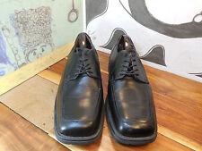 GBX Black Leather Square Toe Oxfords Men's 10M #5508072