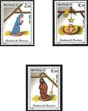 Timbres Religion Noel Monaco 1957/9 ** lot 21141