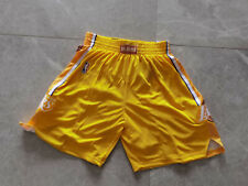 Hot sale New Los Angeles Lakers Yellow City Edition Basketball Shorts Size:S-XXL