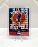 2019-20 Panini Mosaic Blake Griffin Jam Masters Silver Mosaic Pistons