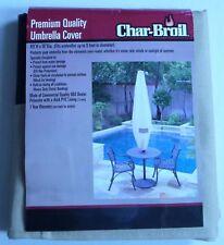 Char Broil Premium Quality Umbrella Cover Khaki New In Original Package