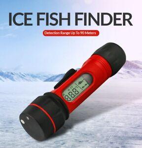 F12 Portable Sonar ICE Fish Finder With Attractive Lamp 100m Depth Sonar Sensor