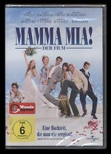 DVD MAMMA MIA! - DER FILM (ABBA) MERYL STREEP + PIERCE BROSNAN *** NEU ***