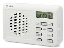 Pure ONE MI Series II DAB FM DIGITALE radio portatile bianco