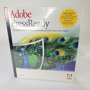 Adobe Press Ready Software for Windows, Sealed