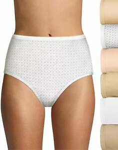 Hanes Ultimate Breathable Cotton Brief 6-Pack