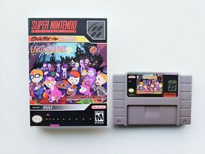 Earthbound Halloween Hack Game / Case RPG SNES Super Nintendo (USA Seller)