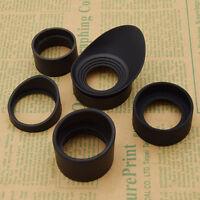 1 Pc Microscope Binocular Telescope Eyeshade Rubber Eye Guard Shield Cup
