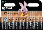 Duracell Ultra Batterie AA Mignon LR6 MX1500, 12er Pack