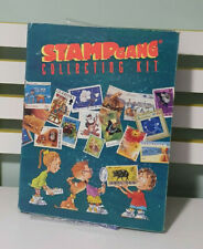 STAMP GANG STAMP ALBUM WITH MAGAZINES AND STAMPS!