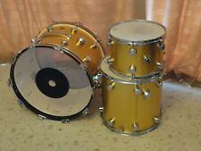 More details for vintage hayman vibrasonic 60s/70s drum kit - gold ingot - 22x14, 16 x16, 13 x9.