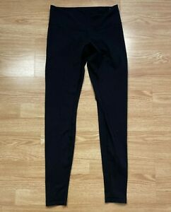 Lululemon Black Full Length Leggings Sz 8