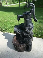 Jebao RUSTIC WELL PUMP Electric Outdoor Yard Patio Garden Water Fountain Feature