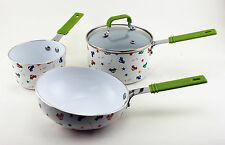 BergHOFF Children line Cookware Set for Boys- Multi-color- 2211438