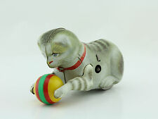 Blechspielzeug - original Köhler Katze Made in US Zone Germany GUT