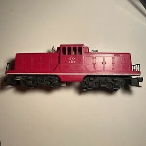 lionel 627 LV switcher 44 Ton Locomotive  lehigh valley Runs Strong Tested