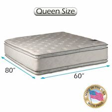 Serenity PillowTop Queen Double-Sided Mattress Only w/ Mattress Protector