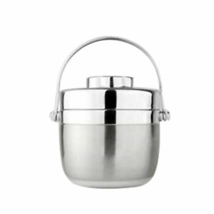 Stainless Steel With Carry Handle Lunch Hold Warm Bento Box For Kids Adults TR