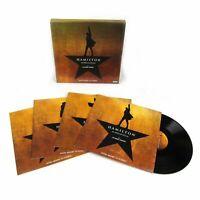 HAMILTON Original Broadway Cast Vinyl 4 LP Recording Box Set NEW & SEALED!