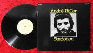 LP André Heller: Stationen (Crystal 038 CRY 45 243) D 1976