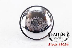 YSMOTO Motorcycle Gas Cap Crown Fuel Tank Cover CNC Right-Hand Thread for Harley Davidson 883 XL1200 48 72 Softail Fat Boy Dyna Black