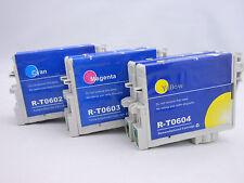 6PK T0602 T0603 T0604 Ink Cartridge for Epson Stylus C88 CX4800 CX5800F CX7800