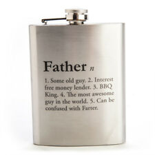 NEW Father Definition Hip Flask