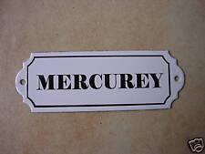 Plaque émaillée VIN CAVE Mercurey émail véritable 800°C neuve Fabriqué en France