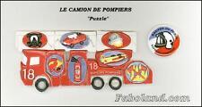 Fèves  LE CAMION DE POMPIERS PUZZLE FB  DV1815