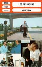 FICHE CINEMA : LES PASSAGERS - Trintignant,Darc,Leroy 1976 The Passengers