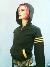 Phat Ticila Sweater Jacket Hood Xs Rockabilly Emo Chic