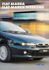 Fiat Marea Saloon & Weekend 1997-98 UK Market Sales Brochure SX ELX HLX