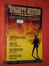 DVD  FILM-COFANETTO SIGILLATO-SPAGHETTI WESTERN-CON MARLON BRANDO-contiene 4 dvd