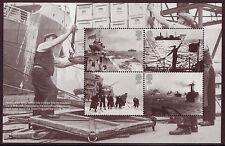 GREAT BRITAIN 2013 MERCHANT NAVY ATLANTIC, ARCTIC CONVOYS BOOKLET PANE UM, MNH