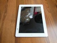 Apple iPad 2 16GB Weiss, WLAN  24,64 cm, (9,7 Zoll)  defekt Model A1395
