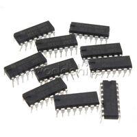 10Pcs 2.0 ~ 6.0 V TOP SN74HC595N 74HC595 8-Bit Shift Register DIP-16 IC TOP
