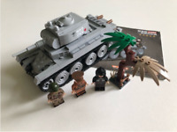 WW2 446 pcs Russian Light Tank 3Pcs soldiers Soviet Minifigures lego MOC weapons