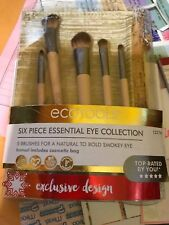 EcoTools Six Piece Essential Bamboo Eye Makeup Brush Set (NEW)