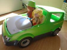 Playmobile Jeep verde de velocidad de Safari plus extras