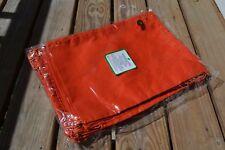 12x16 inch Orange Muslin Drawstring Bags,ECO-FRIENDLY , QTY:10 /25 /50 /100/ 200