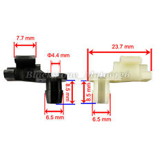 Total 10 Pcs Door Lock Rod Hood Latch Locking Push Clip For GM AMC For Chrysler