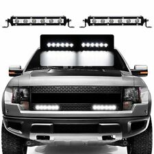 "2 Pcs 7"" 18W  WATERPROOF CREE LED LIGHT BAR OFFROAD DRIVING LAMP SUV ATV CAR 4WD"