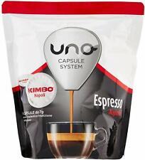 96 Capsule Kimbo Compatibili Uno System Caffè Espresso Napoli
