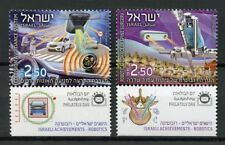 Israel 2018 MNH Israeli Achievements Robotics 2v Set Cars Technology Stamps