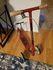 Vintage 1970's HONDA Kick N Go - 3 Wheel Scooter - RED - Works Well. RARE FIND!!